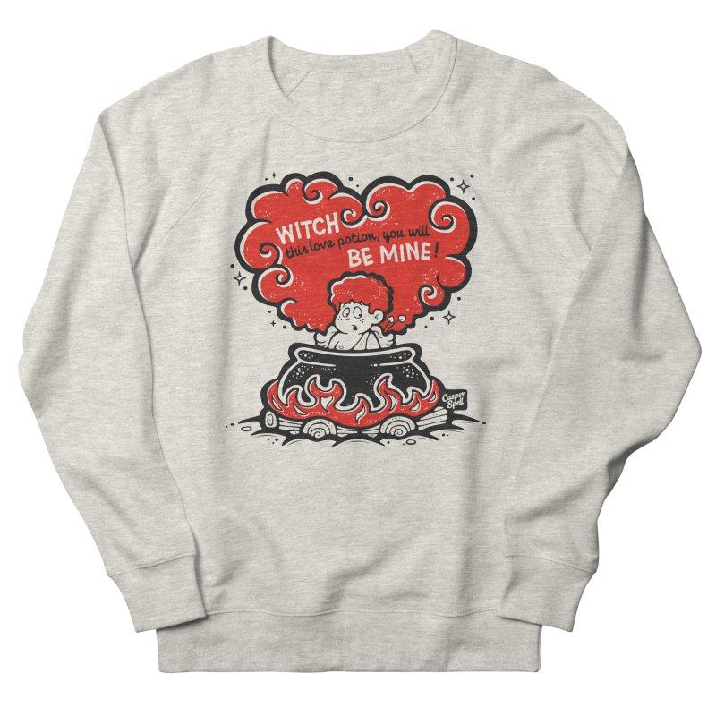 Cupid in Cauldron by Casper Spell Men's Sweatshirt by Casper Spell's Shop
