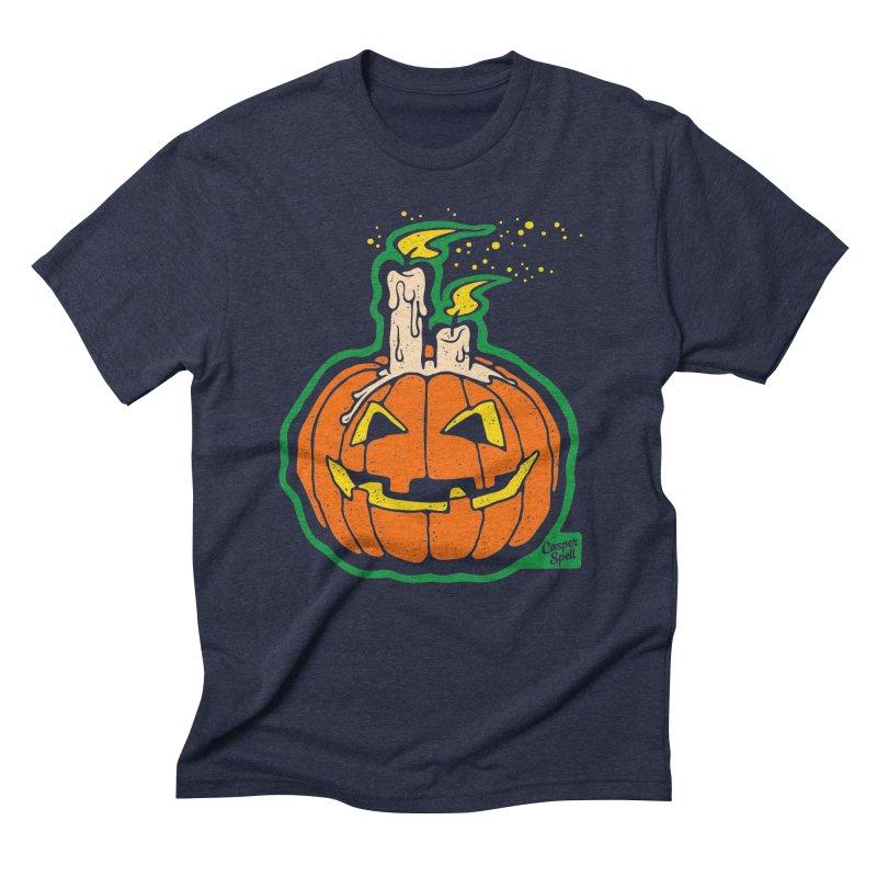 Light All Night Men's Triblend T-shirt by Casper Spell's Shop