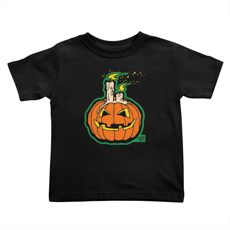Light All Night Kids Toddler T-Shirt by Casper Spell's Shop