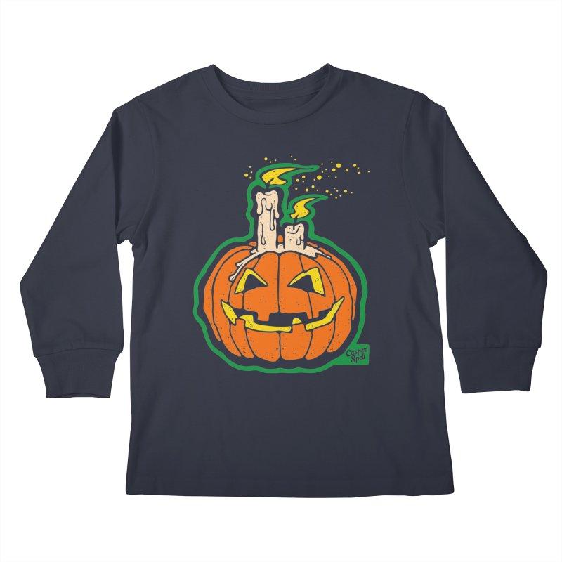 Light All Night Kids Longsleeve T-Shirt by Casper Spell's Shop
