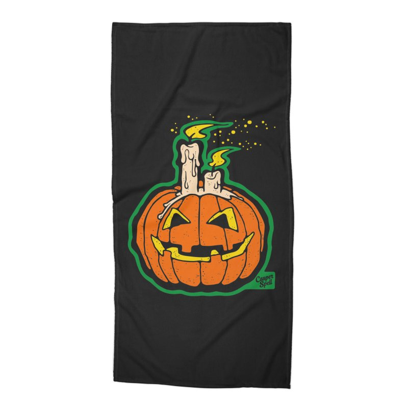 Light All Night Accessories Beach Towel by Casper Spell's Shop