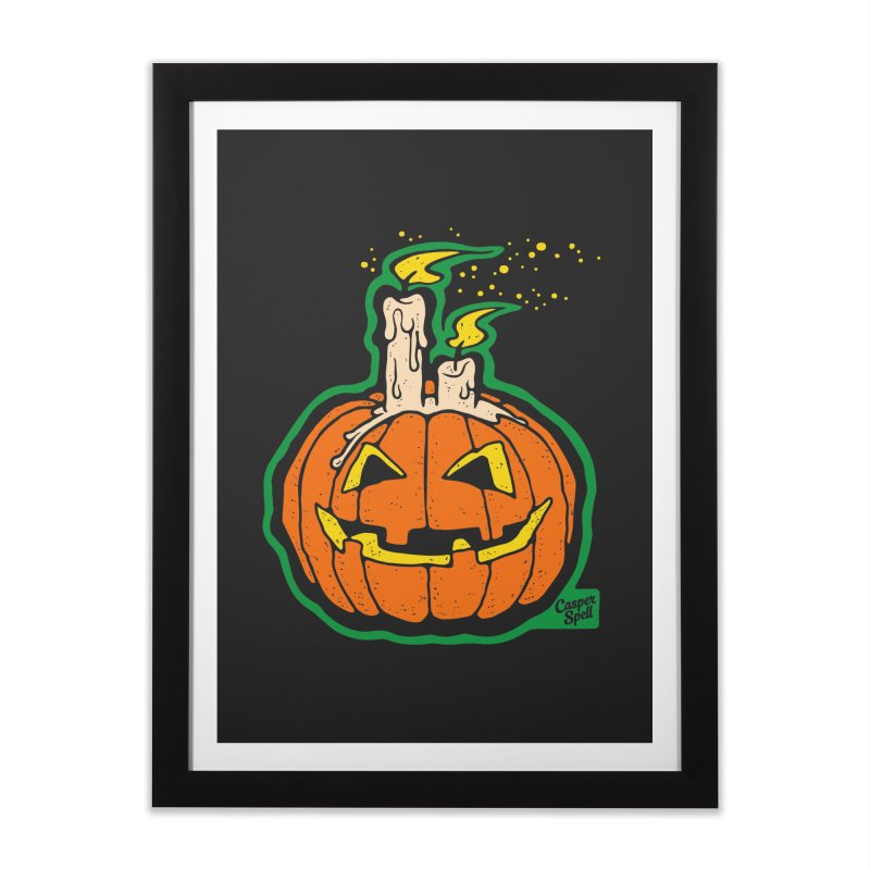Light All Night Home Framed Fine Art Print by Casper Spell's Shop