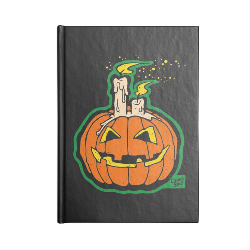Light All Night Accessories Lined Journal Notebook by Casper Spell's Shop