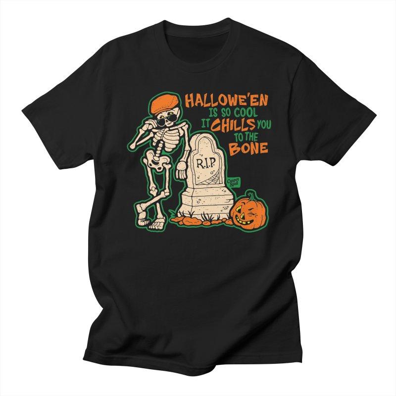 Chills You to the Bone Women's T-Shirt by Casper Spell's Shop
