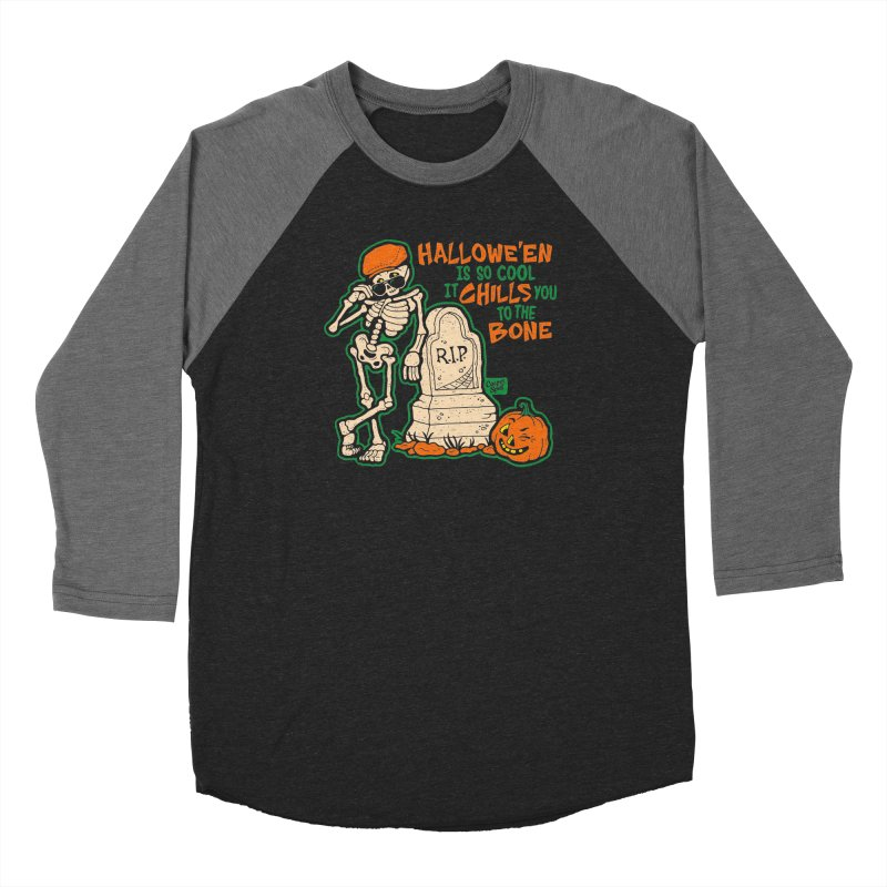 Chills You to the Bone Women's Longsleeve T-Shirt by Casper Spell's Shop