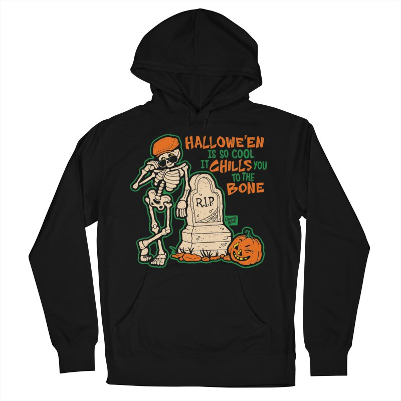 Chills You to the Bone Men's Pullover Hoody by Casper Spell's Shop