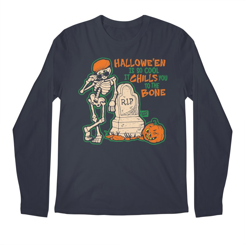 Chills You to the Bone Men's Longsleeve T-Shirt by Casper Spell's Shop
