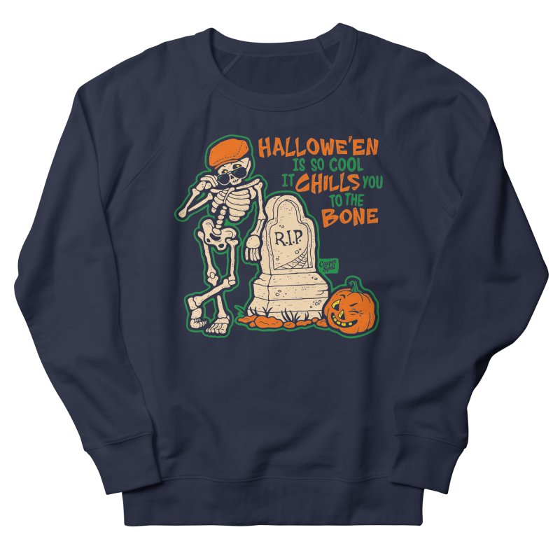 Chills You to the Bone Women's Sweatshirt by Casper Spell's Shop