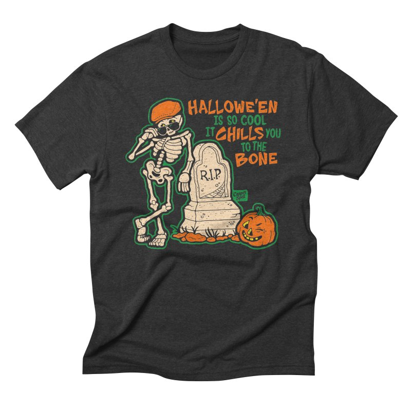 Chills You to the Bone Men's T-Shirt by Casper Spell's Shop