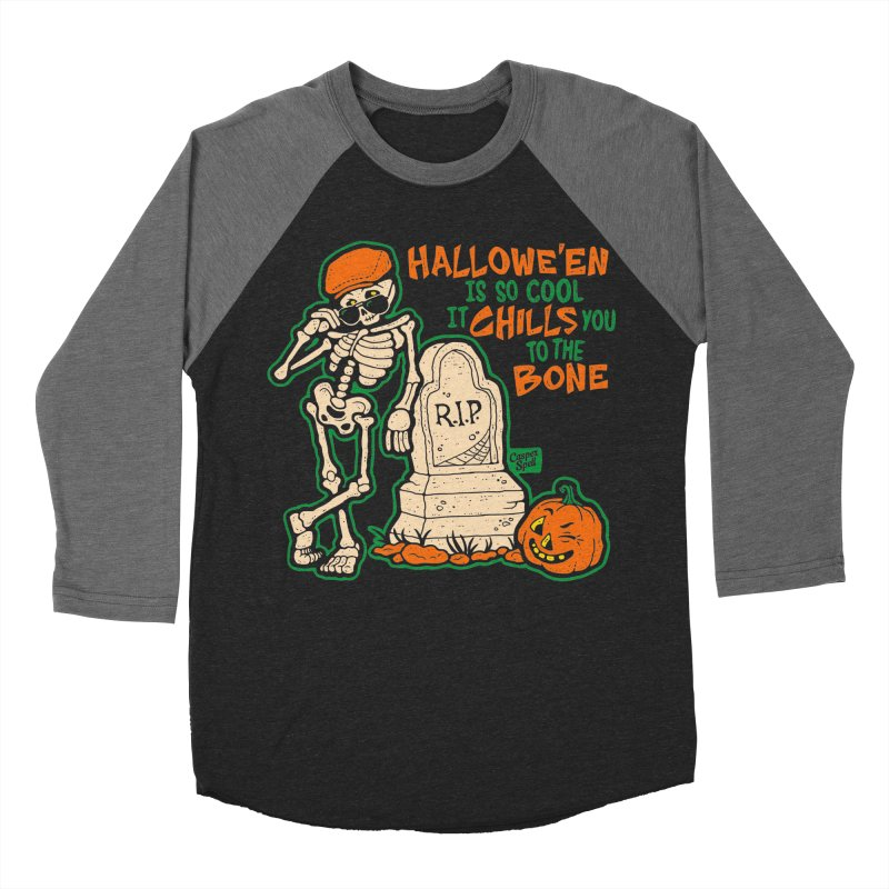 Chills You to the Bone Men's Baseball Triblend T-Shirt by Casper Spell's Shop