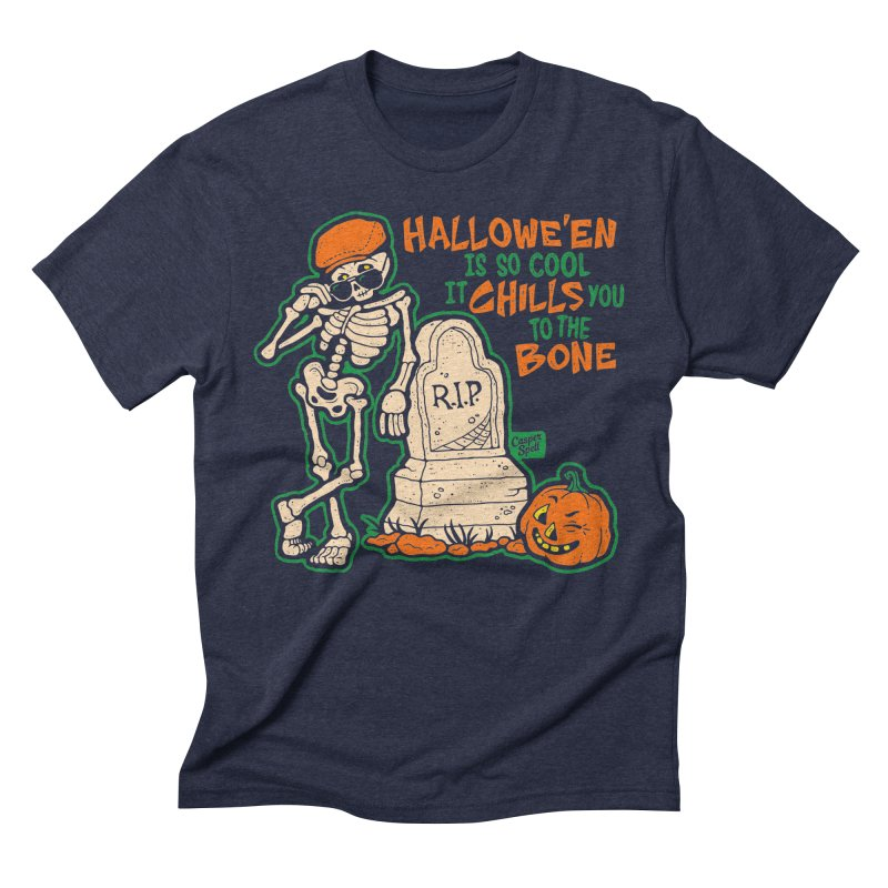 Chills You to the Bone Men's Triblend T-shirt by Casper Spell's Shop