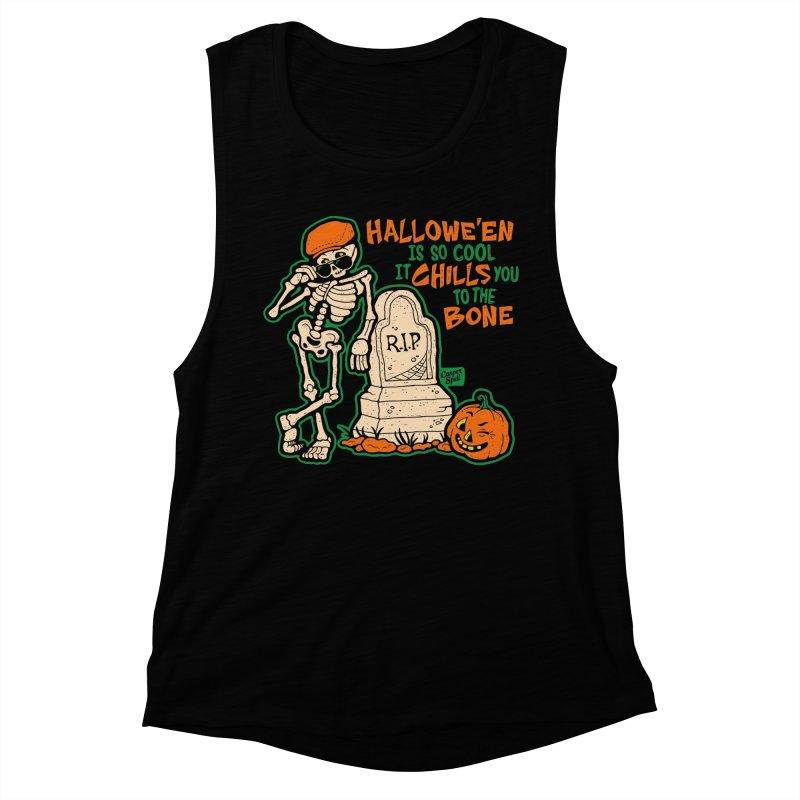 Chills You to the Bone Women's Tank by Casper Spell's Shop