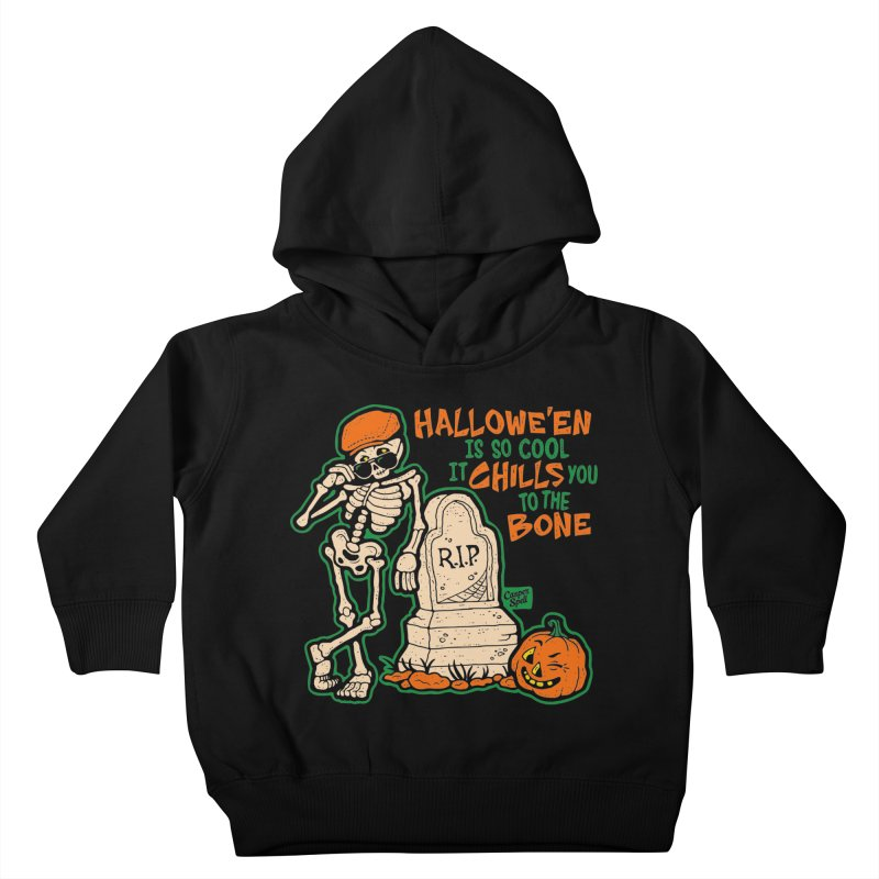 Chills You to the Bone Kids Toddler Pullover Hoody by Casper Spell's Shop