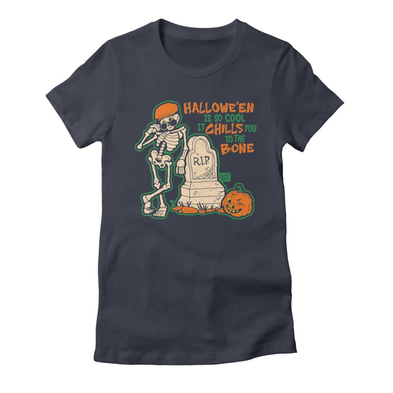 Chills You to the Bone Women's T-Shirt by Casper Spell's Shop