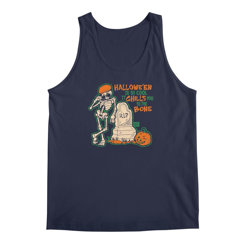 Chills You to the Bone Men's Tank by Casper Spell's Shop