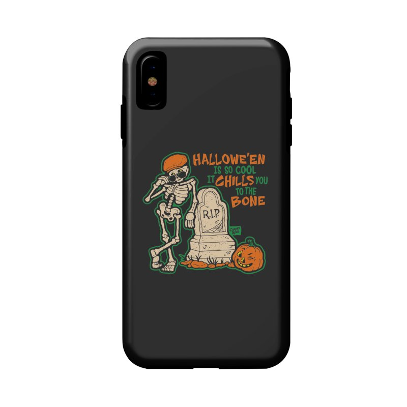 Chills You to the Bone Accessories Phone Case by Casper Spell's Shop