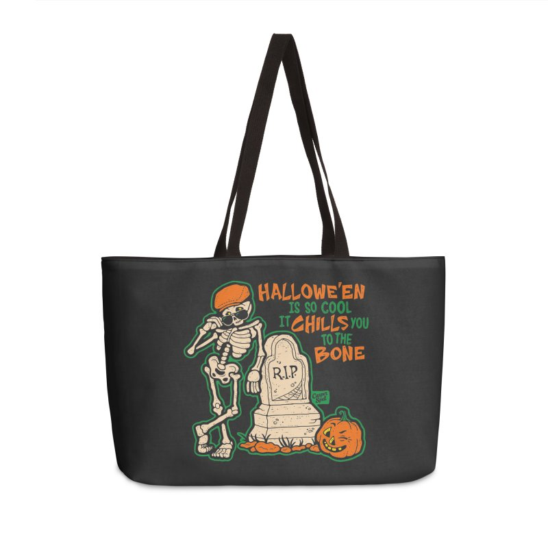 Chills You to the Bone Accessories Weekender Bag Bag by Casper Spell's Shop