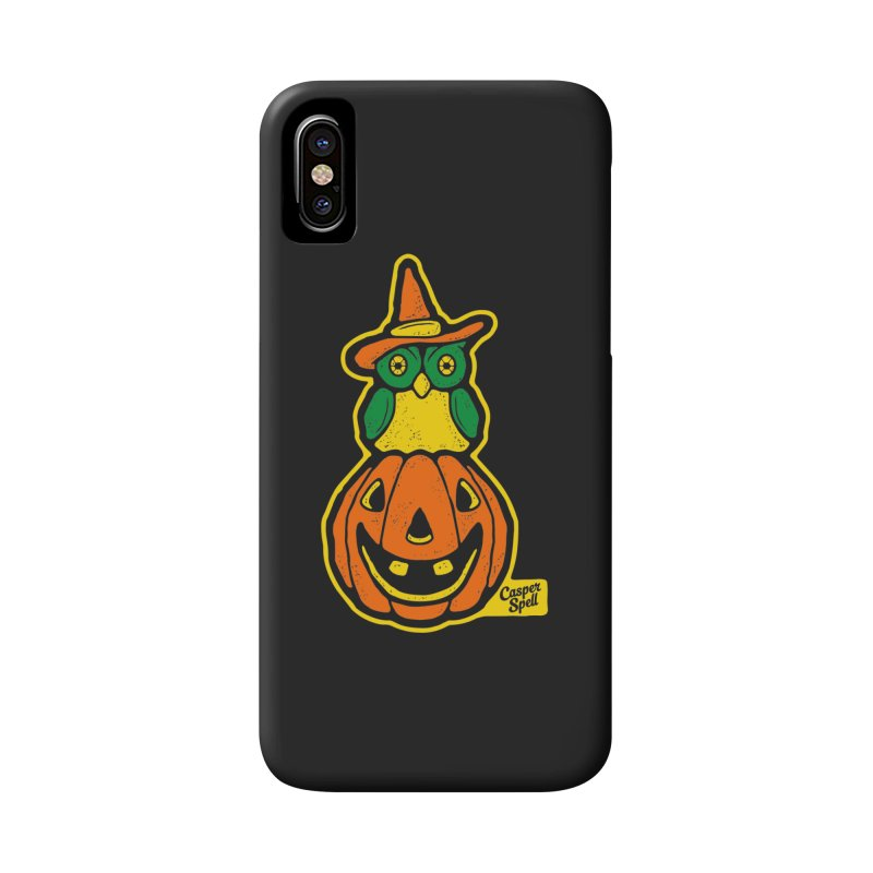 Witch Owl and Jack-O-Lantern Accessories  by Casper Spell's Shop