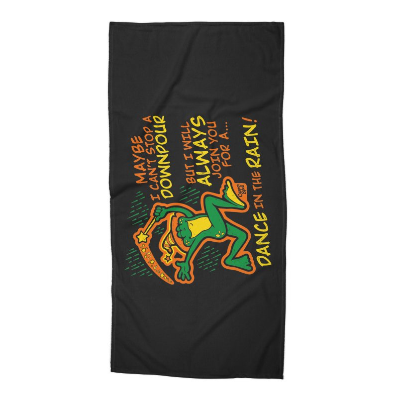 Dance in the Rain Accessories Beach Towel by Casper Spell's Shop