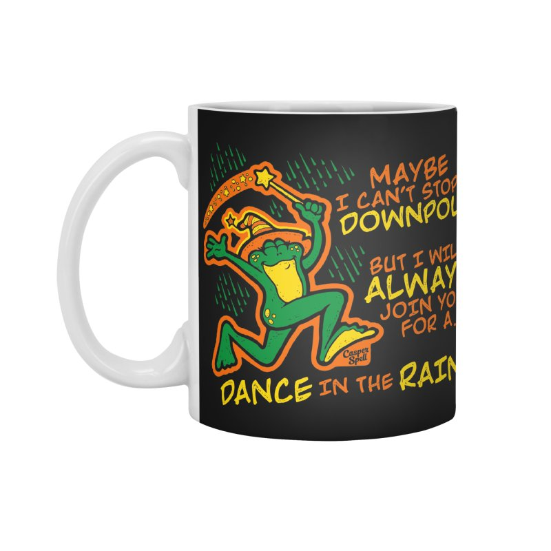 Dance in the Rain Accessories Mug by Casper Spell's Shop