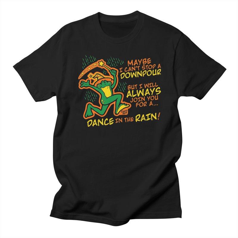 Dance in the Rain Men's T-Shirt by Casper Spell's Shop
