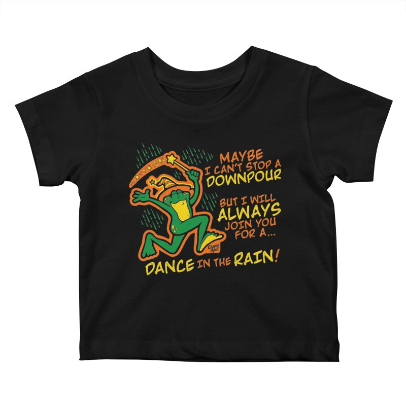 Dance in the Rain Kids Baby T-Shirt by Casper Spell's Shop