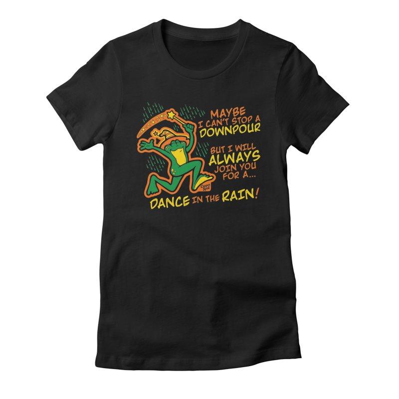 Dance in the Rain Women's T-Shirt by Casper Spell's Shop