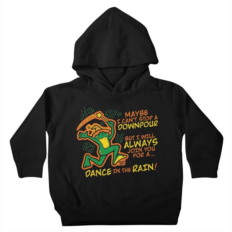 Dance in the Rain Kids Toddler Pullover Hoody by Casper Spell's Shop