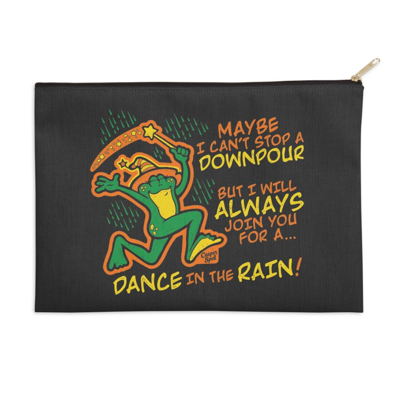 Dance in the Rain Accessories Zip Pouch by Casper Spell's Shop