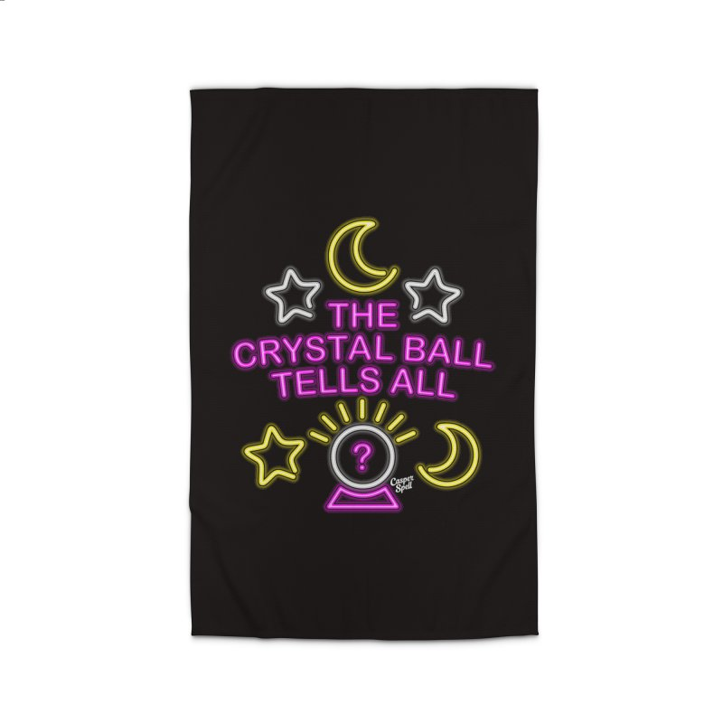 Neon Psychic Crystal Ball Tells All Home  by Casper Spell's Shop