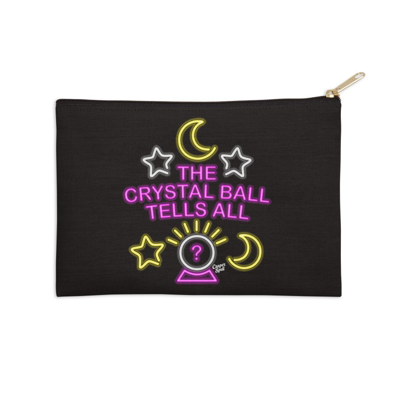 Neon Psychic Crystal Ball Tells All Accessories  by Casper Spell's Shop