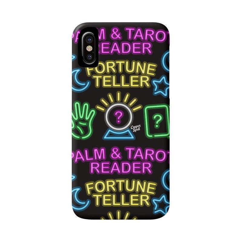 Neon Fortune Teller Palm Tarot Reader Accessories  by Casper Spell's Shop