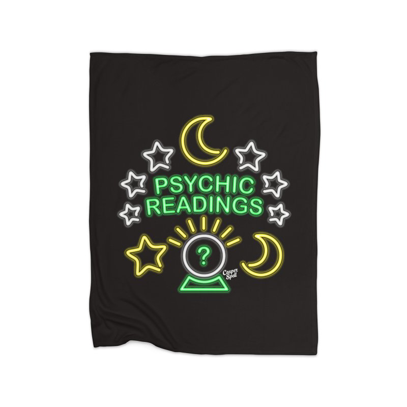 Neon Sign Psychic Reader Readings Home  by Casper Spell's Shop