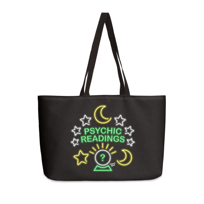 Neon Sign Psychic Reader Readings Accessories Bag by Casper Spell's Shop