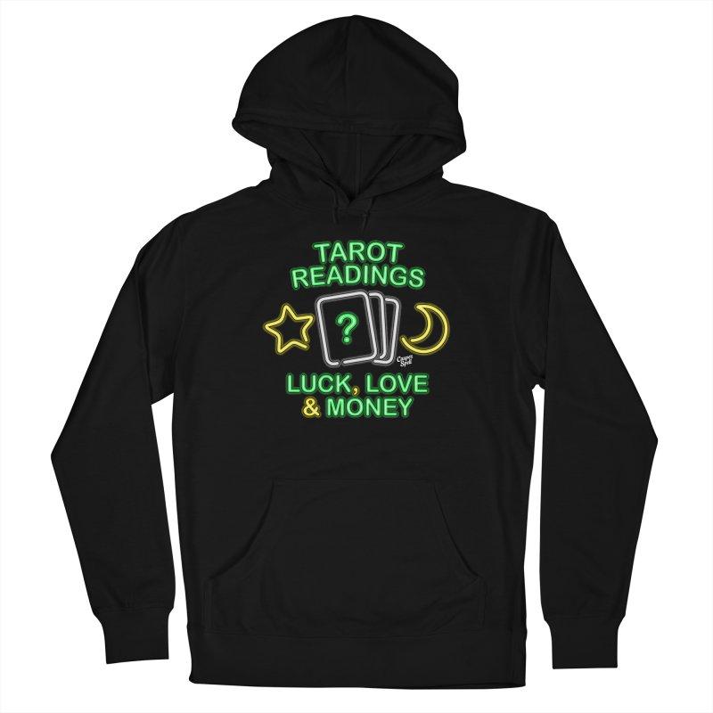 Neon Sign Psychic Tarot Readings  Men's Pullover Hoody by Casper Spell's Shop