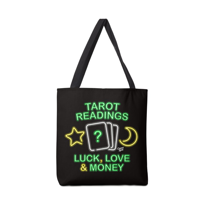 Neon Sign Psychic Tarot Readings  Accessories Bag by Casper Spell's Shop