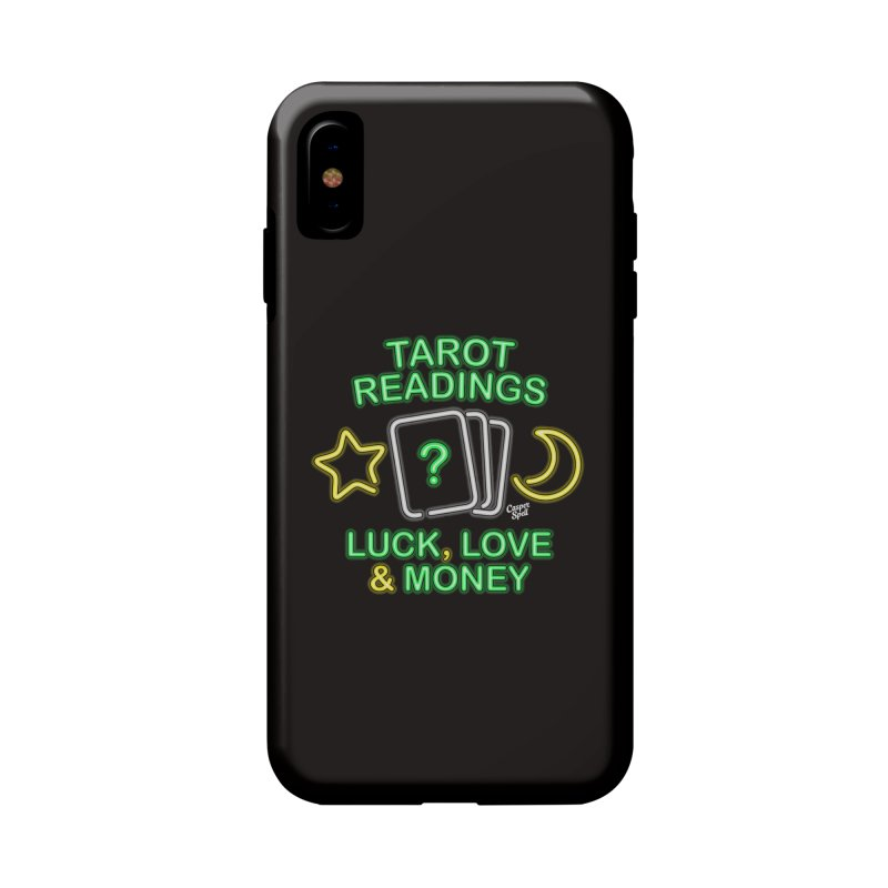 Neon Sign Psychic Tarot Readings  Accessories Phone Case by Casper Spell's Shop