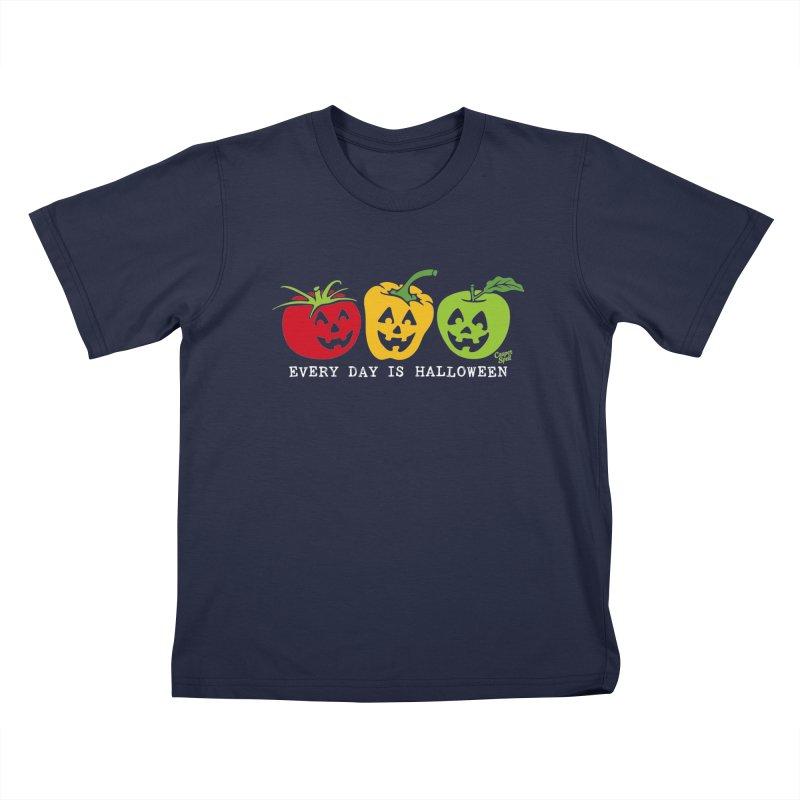 Every Day Is Halloween Kids T-Shirt by Casper Spell's Shop