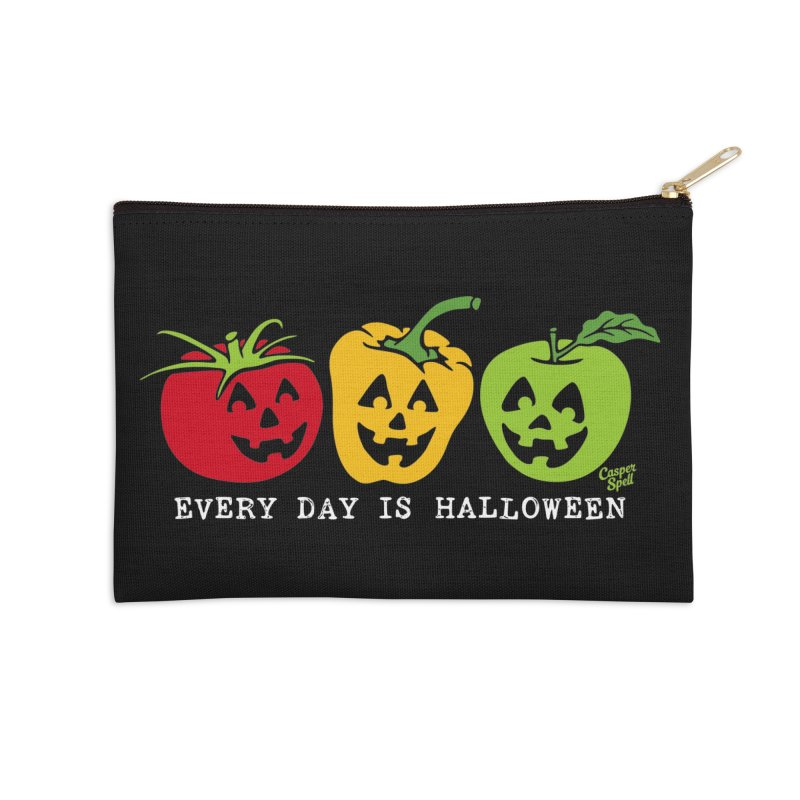 Every Day Is Halloween Accessories Zip Pouch by Casper Spell's Shop