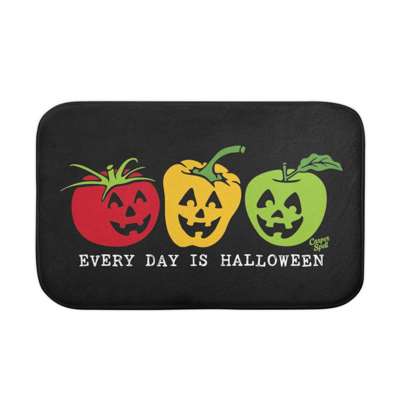 Every Day Is Halloween Home Bath Mat by Casper Spell's Shop