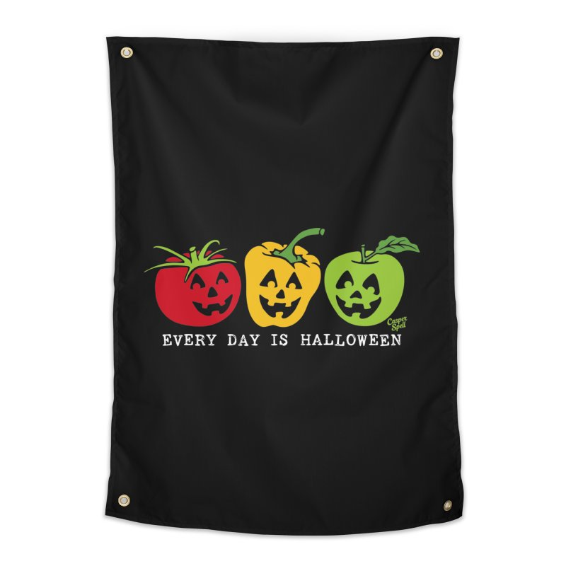Every Day Is Halloween Home Tapestry by Casper Spell's Shop
