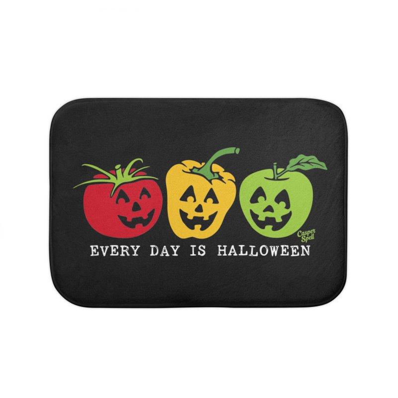 Every Day Is Halloween Home Bath Mat by Casper Spell's Shop
