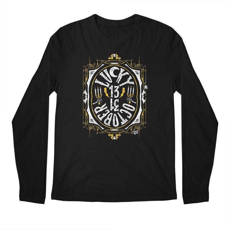Lucky 13 31 October Men's Longsleeve T-Shirt by Casper Spell's Shop