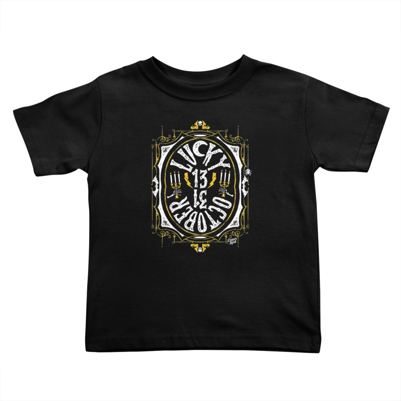 Lucky 13 31 October Kids Toddler T-Shirt by Casper Spell's Shop