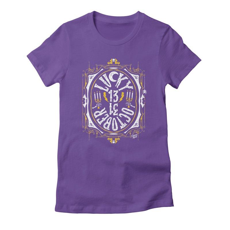 Lucky 13 31 October Women's T-Shirt by Casper Spell's Shop