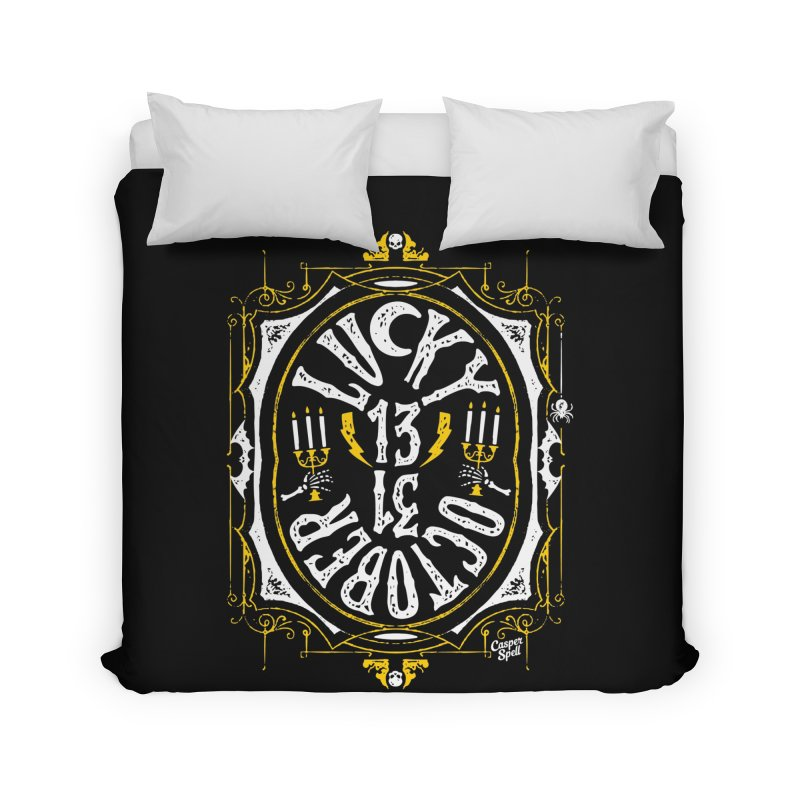 Lucky 13 31 October Home Duvet by Casper Spell's Shop