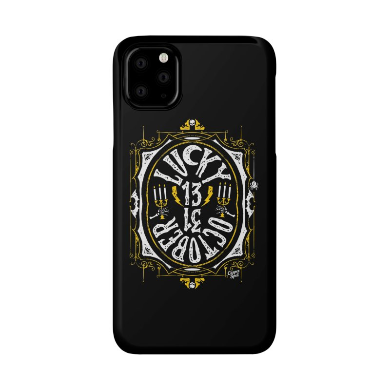 Lucky 13 31 October Accessories Phone Case by Casper Spell's Shop