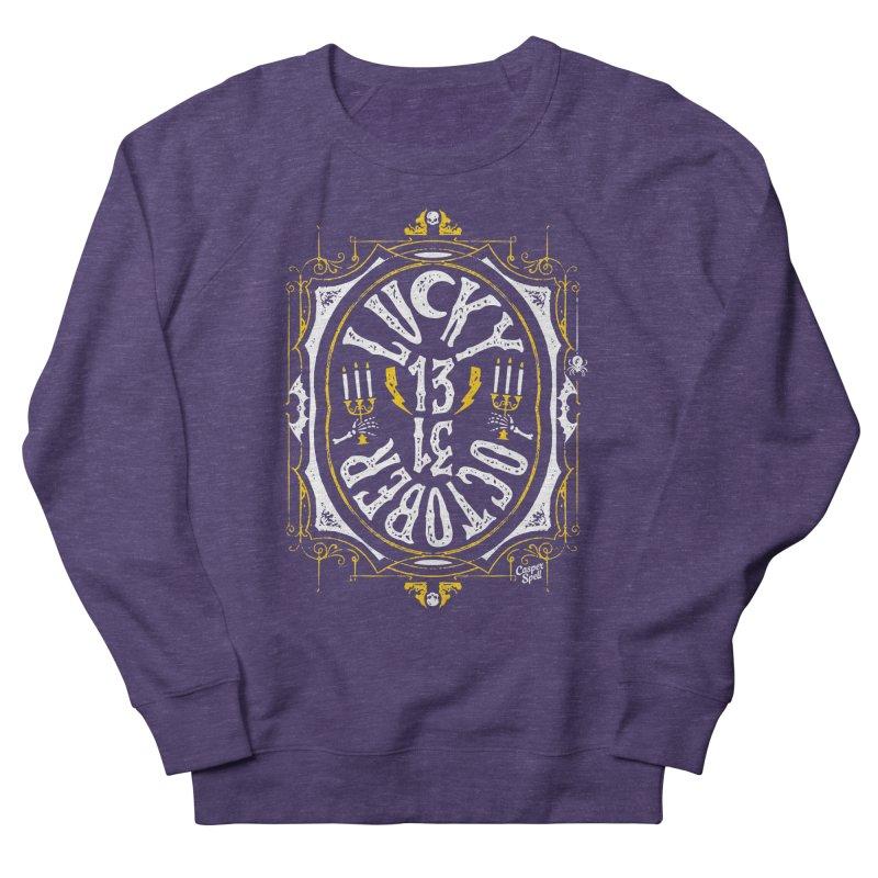 Lucky 13 Men's Sweatshirt by Casper Spell's Shop