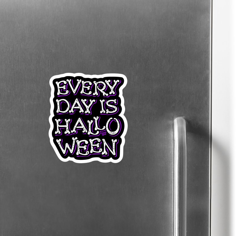 Every Day Is Halloween Accessories Magnet by Casper Spell's Shop