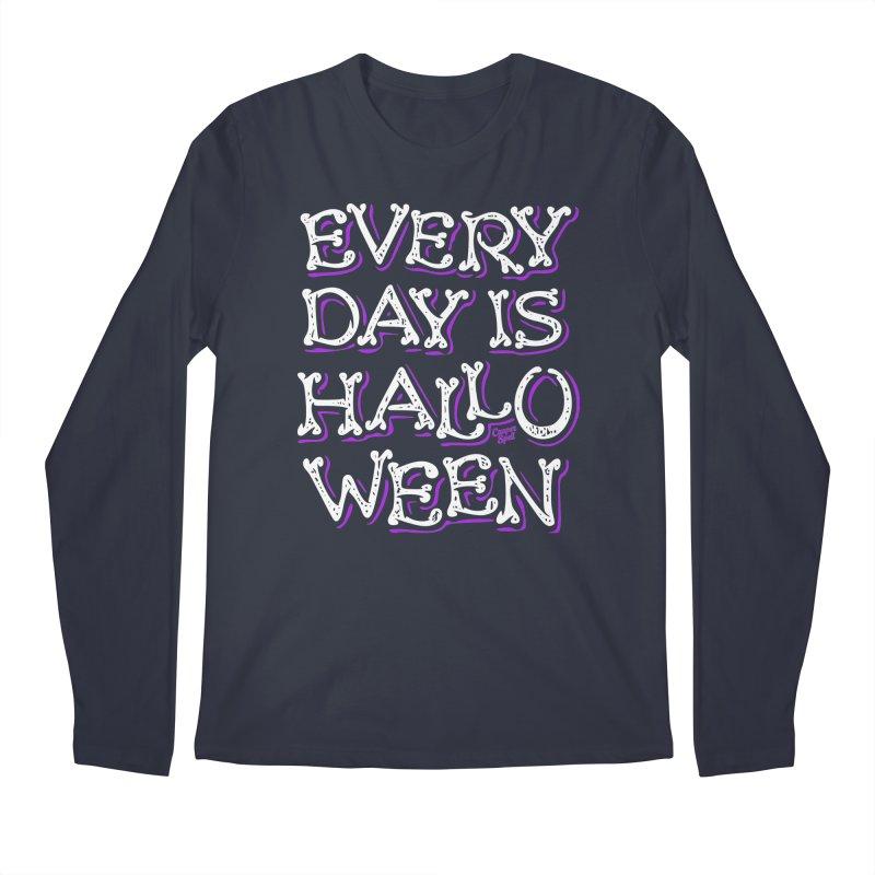 Every Day Is Halloween Men's Longsleeve T-Shirt by Casper Spell's Shop